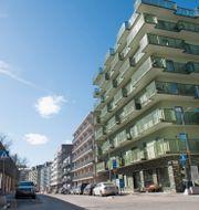 Norra Djurgårdsstaden i Stockholm.  Fredrik Sandberg/TT / TT NYHETSBYRÅN