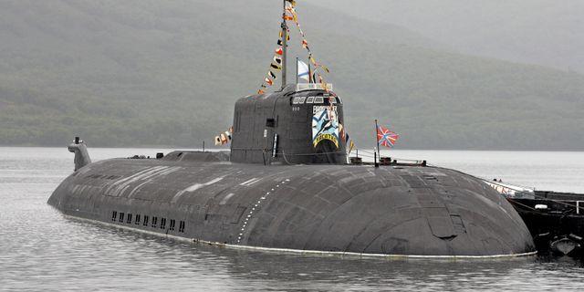Vilyuchinsk, ett systerfartyg till Orel. TT / NTB Scanpix