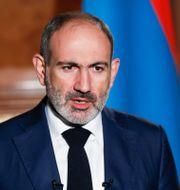Arkivbild: Armeniens premiärminister Nikol Pasjinian Tigran Mehrabyan / TT NYHETSBYRÅN