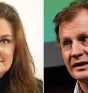 Mikaela Valtersson Carl Schlyter  Riksdagen/TT