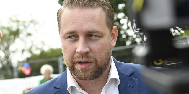Mattias Karlsson (SD). Johan Nilsson/TT / TT NYHETSBYRÅN