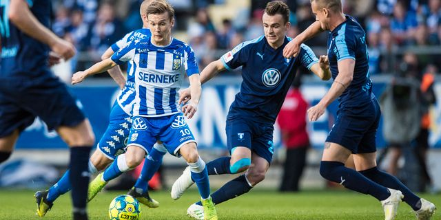 Göteborgs Patrik Karlsson Lagemyr. MICHAEL ERICHSEN / BILDBYRÅN