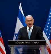 Benjamin Netanyahu. Debbi Hill / TT NYHETSBYRÅN