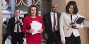 Representanthusets talman, demokraten Nancy Pelosi, på torsdagen. Sarah Silbiger / GETTY IMAGES NORTH AMERICA