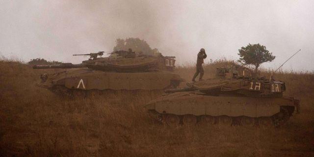 Israel tar hem trupper