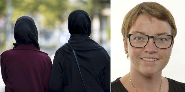 Alexandra Anstrell från Moderatkvinnorna.  TT/Riksdagen