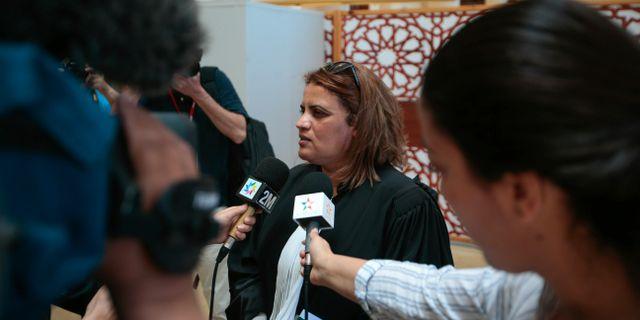 Advokaten Hafida Makssaou. Mosa'ab Elshamy / TT NYHETSBYRÅN