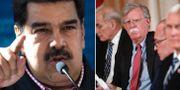 Nicolas Maduro, John Bolton.  TT