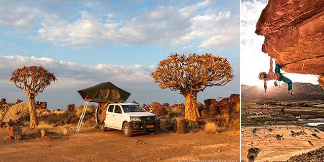 Safari och bergsklättring – två oslagbara upplevelser i Afrika. Wikicommons