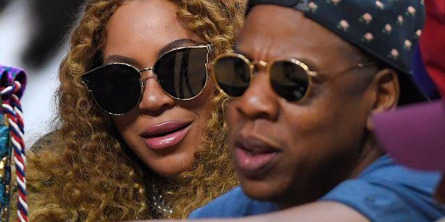 Beyoncé och Jay Z i Los Angeles 2017 Mark J. Terrill / TT / NTB Scanpix