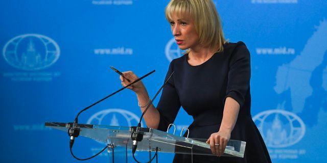 Arkivbild: Maria Zakharova YURI KADOBNOV / AFP