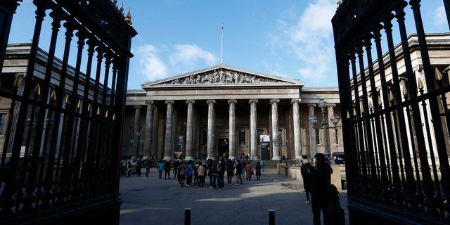 Attacken skulle ske mot British Museum. Sang Tan / TT / NTB Scanpix