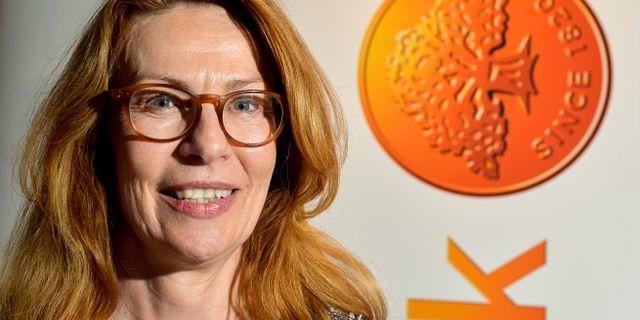 Swedbanks vd Birgitta Bonnesen. Jonas Ekströmer/TT / TT NYHETSBYRÅN