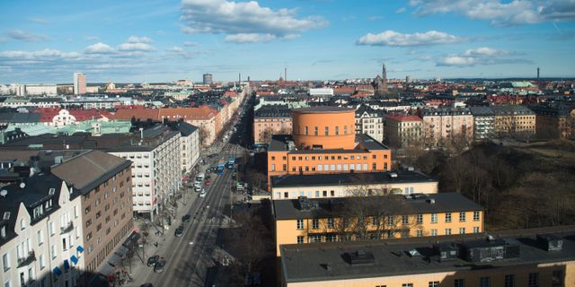 Odenplan i Stockholm.  Fredrik Sandberg/TT / TT NYHETSBYRÅN