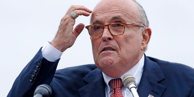 Rudy Giuliani. Charles Krupa / TT NYHETSBYRÅN/ NTB Scanpix