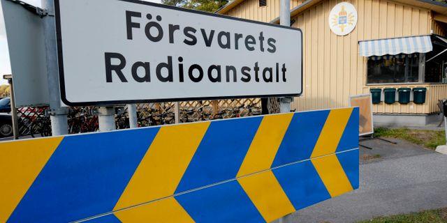 Försvarets Radioanstalt på Lovön utanför Stockholm Bertil Ericson / TT / TT NYHETSBYRÅN