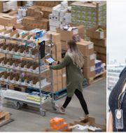 Gulfem Toygar, chef på Amazon i Sverige.  TT