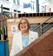 Barbara Bergström, grundare av Internationella Engelska Skolan Malin Hoelstad/SvD/TT / TT NYHETSBYRÅN