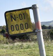 Gränsen mellan Irland och Nordirland. Wiktor Nummelin/TT / TT NYHETSBYRÅN
