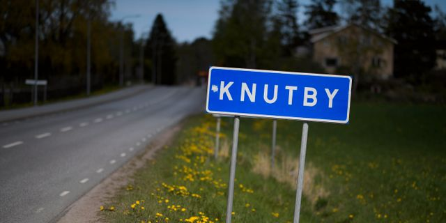 Knutby  Pontus Lundahl/TT / TT NYHETSBYRÅN