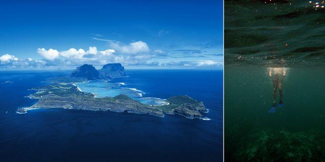 Lord Howe Island utanför Australiens östkust är ett av världens bästa resmål 2020, enligt Lonely Planet. Destination NSW/Patchtok