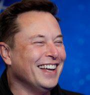 Teslas vd Elon Musk. Hannibal Hanschke / TT NYHETSBYRÅN