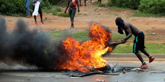 Hämndaktioner i Nigeria. TT NYHETSBYRÅN