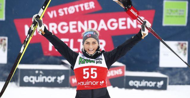 Therese Johaug Terje Pedersen / TT NYHETSBYRÅN