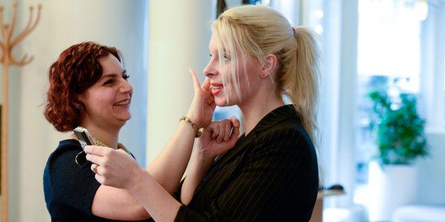 Paula Bieler och Hanna Wigh. LEIF R JANSSON / TT / TT NYHETSBYRÅN