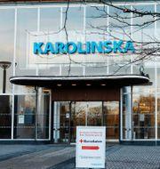 Karolinska i Solna Christine Olsson/TT / TT NYHETSBYRÅN