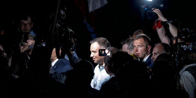 President  Andrzej Duda. Petr David Josek / TT NYHETSBYRÅN
