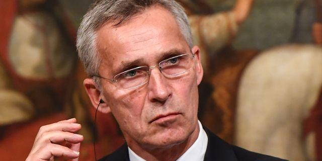 Jens Stoltenberg. TIZIANA FABI / AFP
