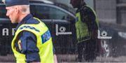 Polis på plats på Drottninggatan i Malmö efter dödsskjutning Johan Nilsson/TT / TT NYHETSBYRÅN