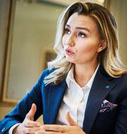 Ebba Busch.  Simon Rehnström/SvD/TT / TT NYHETSBYRÅN