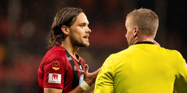 Tom Pettersson, lagkapten i ÖFK 2019.  JOHAN AXELSSON / BILDBYRÅN