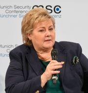 Norges statsminister Erna Solberg. CHRISTOF STACHE / AFP