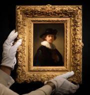 Rembrandts självporträtt Kirsty Wigglesworth / TT NYHETSBYRÅN