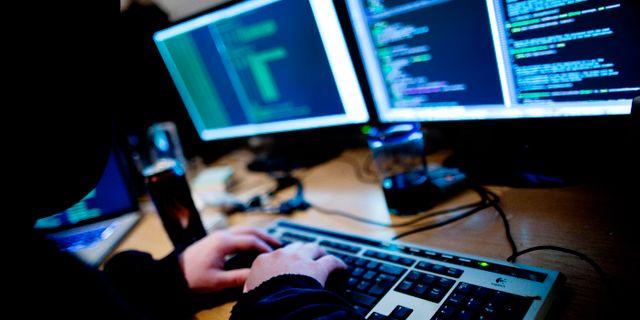 Illustrationsbild: Hackare. Øijord, Thomas Winje / TT NYHETSBYRÅN
