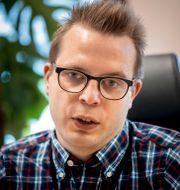 Dennis Martinsson. PAVEL KOUBEK/TT / TT NYHETSBYRÅN