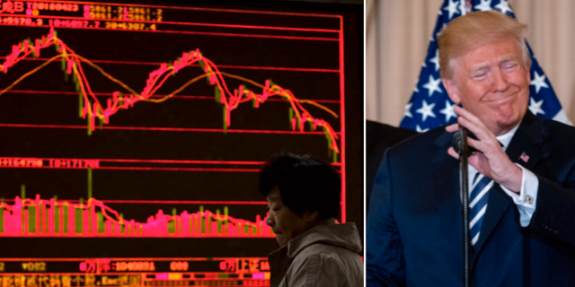 Asiens börser tappade på onsdagen sedan Trump ånyo sagt sig vara pessimistisk till en lösning i handelsfrågan med Kina samt Nordkoreasamtal. TT