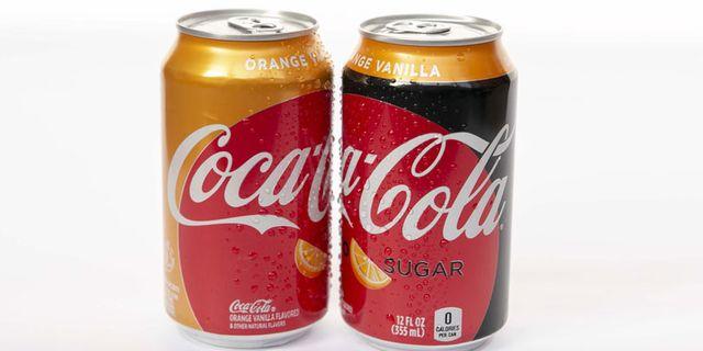 Pressbild.  Coca Cola.