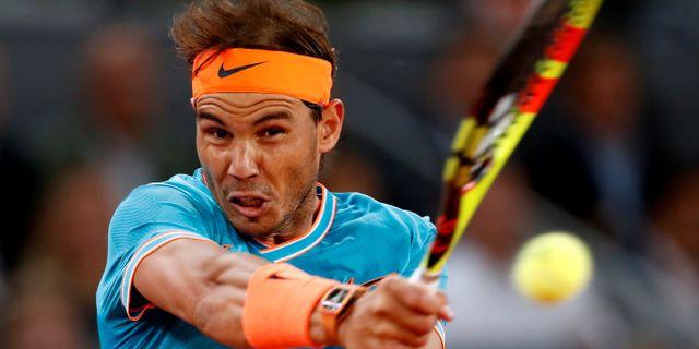 Rafael Nadal.  Susana Vera / TT NYHETSBYRÅN