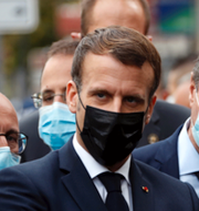 Emmanuel Macron.  TT