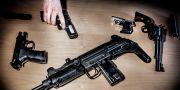 Arkivbild. Illegala vapen beslagtagna av Tullverket. Tomas Oneborg/SvD/TT / TT NYHETSBYRÅN