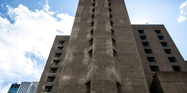 Häktet Metropolitan Correctional Center i New York. TT