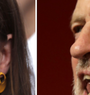 Liberaldemokraternas partiledare Jo Swinson / Labours ledare Jeremy Corbyn. TT