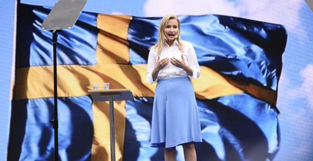 Ebba Busch Thor Henrik Montgomery/TT / TT NYHETSBYRÅN