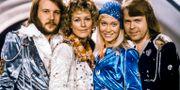 Abba från Melodifestivalen 1974. Olle Lindeborg/TT