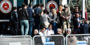 Domstolen i Silivri, utanför Istanbul på onsdagen.  YASIN AKGUL / AFP
