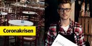 Martin Sjölander driver restaurangerna Knut och Knut Bar i centrala Stockholm.  Privat/TT